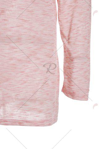 Fashionable Off-The-Shoulder Solid Color Plus Size 3/4 Sleeve T-Shirt For Women от Rosegal.com INT