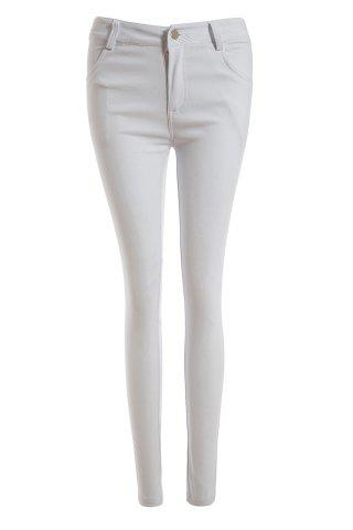 Outfits Casual Low-Waisted Solid Color Stretchy Bodycon Women's Pants