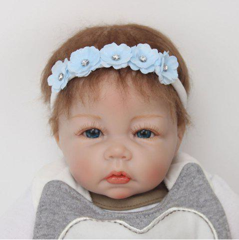 Discount Cute Toddler Girls Baby Flowers Nylon Headband Photography