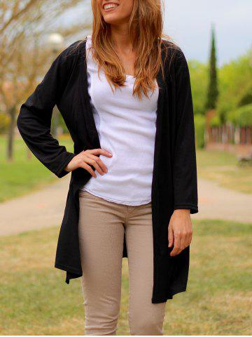 Outfits Women's Stylish Long Sleeve Solid Colour Cardigan