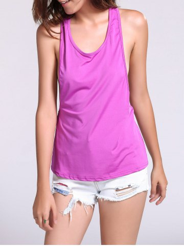 Best Backless Fropped Armhole Tank Top
