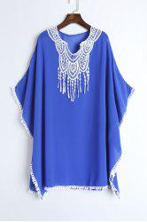 Lace Chiffon Beach Kaftan Cover Up