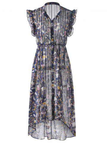 Unique Bohemian Long Dress For Women COLORMIX S