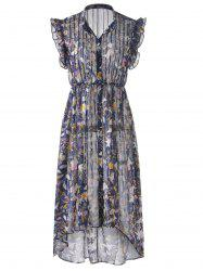 Bohemian Long Dress For Women - COLORMIX S