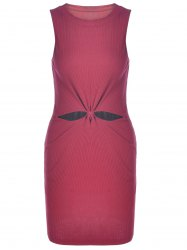 Sleeveless Knotted Bodycon Going Out Dress