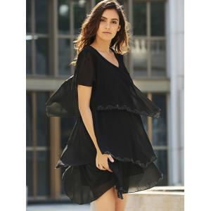 Tiered Loose Dress -