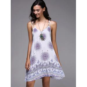 Bohemian Strappy Backless Dress For Women -