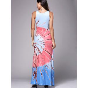 Bohemian Printed Casual Summer Maxi Dress -