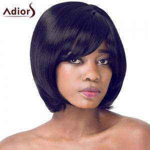 Gorgeous Bob Style Short Straight Side Bang Synthetic Adiors Wig For Women -