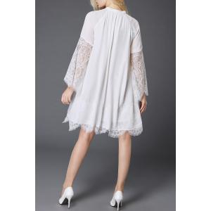 Lace Spliced Hollow Out Dress -
