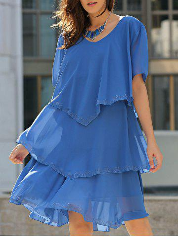 Store Tiered Loose Dress