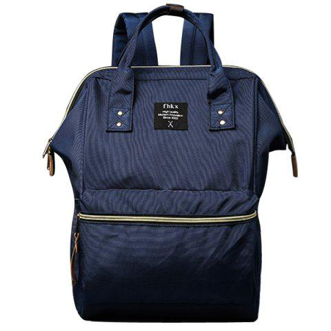 Discount Leisure Zips and Nylon Design Backpack For Men
