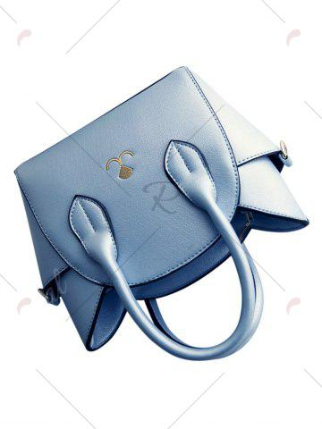 Buy Charming Cat Shape and Solid Color Design Tote Bag For Women - BLUE  Mobile