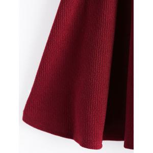 Women Woolen Short Mini Skirt Pencil A-Line Skirt -
