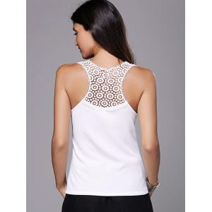 Chic Women's Laced  Racerback Tank Top -