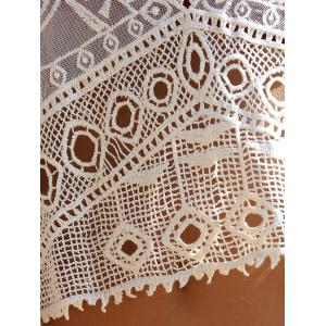 Crochet Cut Out Cover Up -