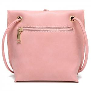 Leisure Tassels and Solid Color Design Crossbody Bag For Women -