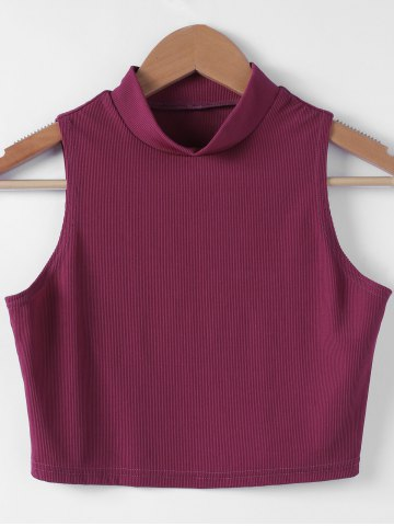 Outfits Fashionable Solid Color Short Top For Women