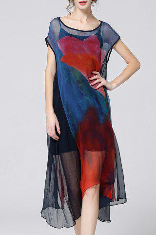 Hot Camisole Dress and Asymmetrical Cover-Up Twinset