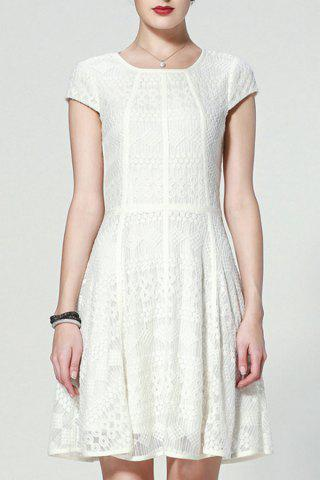 Shop Lace Short A Line Dress