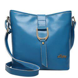 Concise Letter and Solid Color Design Crossbody Bag For Women