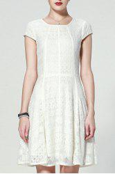 Lace Short A Line Dress -