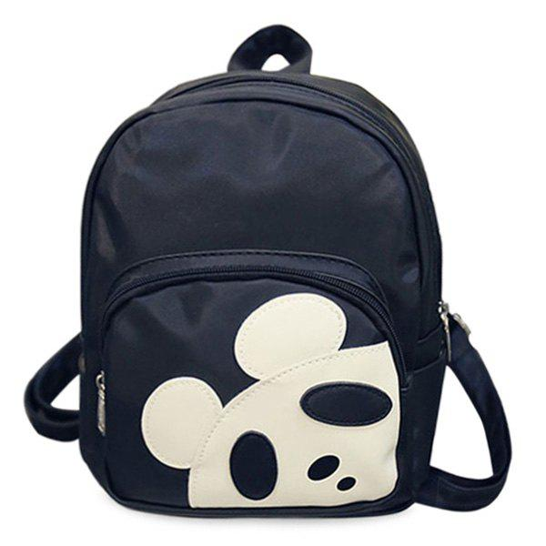 Sale Leisure Hit Colour and Panda Pattern Design Backpack For Women