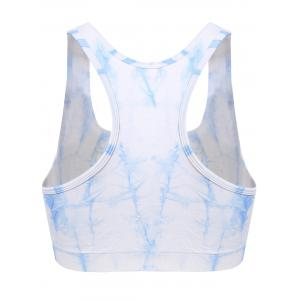 Tie Dyed Push Up Sport Bra -
