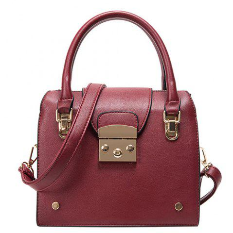 Shop Trendy Metallic and PU Leather Design Tote Bag For Women