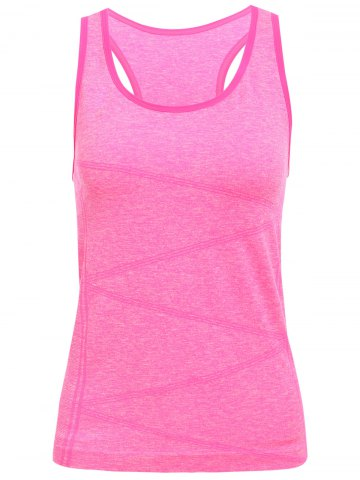 Buy Space Dyed U Neck Racerback Running Vest