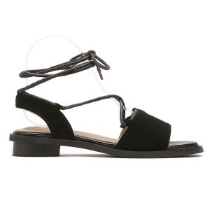 Simple Style Lacing and Suede Design Sandals For Women -