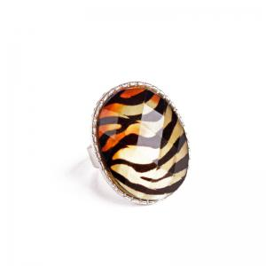 Vintage Tiger Stripes Ring -