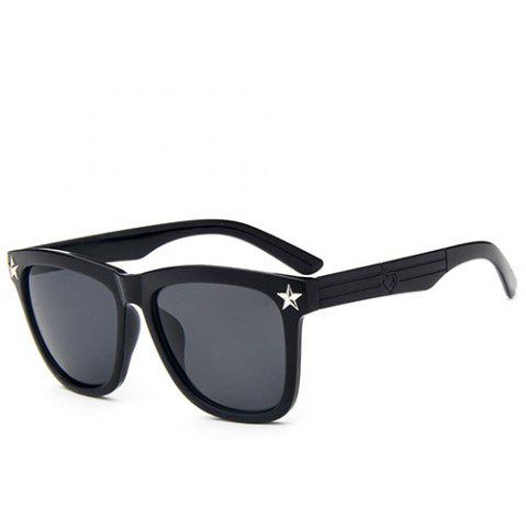 Buy Hipsters Star Quadrate UV Protection Polarized Sunglasses