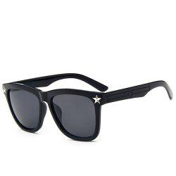 Hipsters Star Quadrate UV Protection Polarized Sunglasses