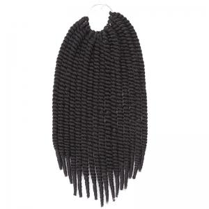 Fashion Heat Resistant Fiber Senegal Twists Braids Hair Extension For Women