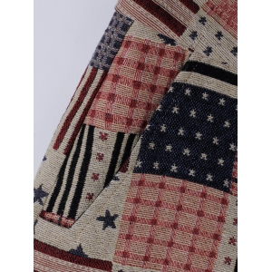 American Flag Shorts - WATERMELON RED L