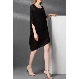 Camisole Dress and Asymmetrical Chiffon Dress Twinset -