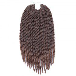 Vogue Brown Gradient Braids Synthetic Senegal Twists Hair Extension For Women