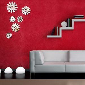 Stereo Applique Removeable 3D Mirror Wall Sticker -