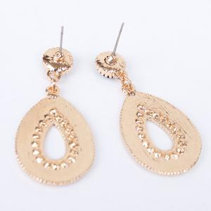 Pair of Vintage Water Drop Jewelry Earrings For Women -