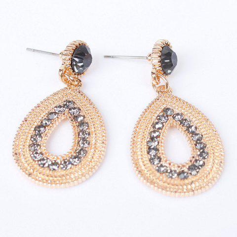 Cheap Pair of Vintage Water Drop Jewelry Earrings For Women