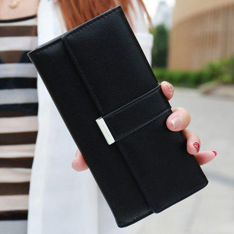 Buy Sweet Candy Color and PU Leather Design Wallet For Women