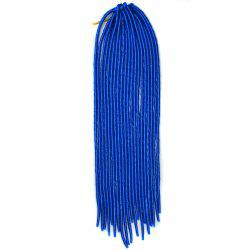 Fashion Solid Color Heat Resistant Synthetic Dreadlock Hair Extension For Women -