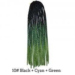 Stunning Braids Dreadlock Three Color Gradient Synthetic Hair Extension For Women -