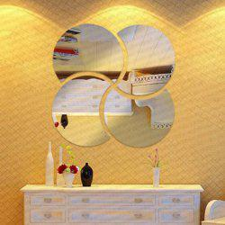 Creative 3D DIY Jigsaw Removeable Mirror Wall Stick -