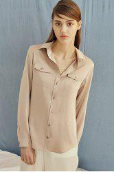 Satin Silk Shirt -