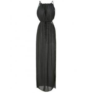 Maxi Chiffon Slip Prom Dress