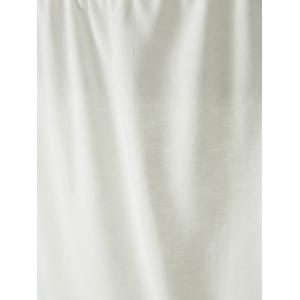 Crop Ruched Two Piece Party Dress - WHITE L