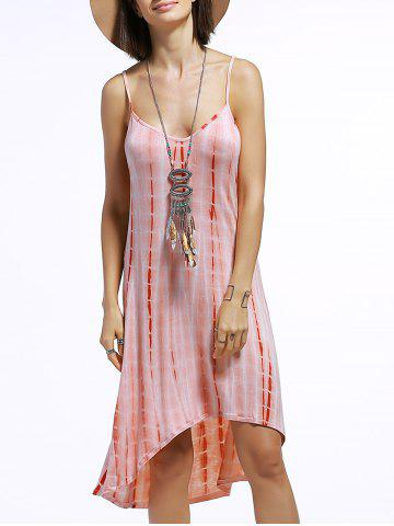 Discount Spaghetti Strap Tie Dye Dress