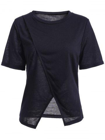 Affordable Slit Asymmetric T-Shirt